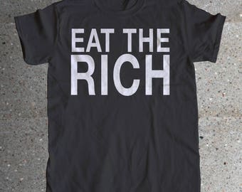Eat The Rich Men's Shirt
