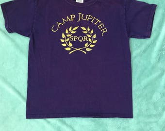 Hand Painted Camp Jupiter Shirt