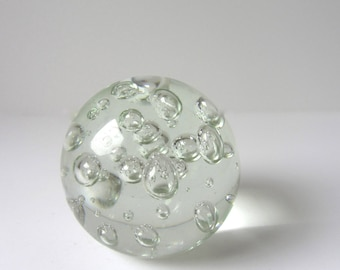 Glass Sphere Paperweight