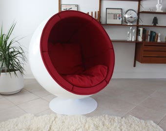 mid century modern ball chair swivel globe chair
