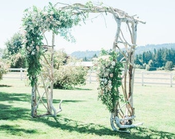 Driftwood Wedding Arbor