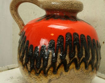 west german pottery vase by scheurich 248/21
