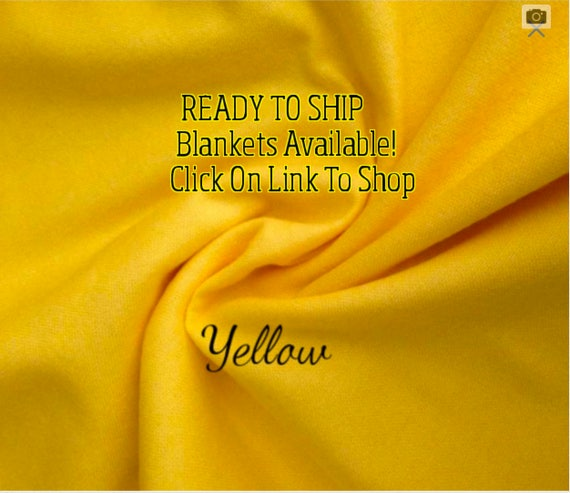 Solid Color, Weighted Blanket, Yellow, Up to Twin Size 3 to 15 Pounds.  SPD, Autism, Weighted Blanket.