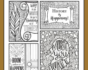 Coloring cards | Etsy