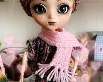 PULLIP OUTFIT (skirt, top, hat, scarf)