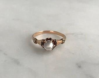 Turn of the Century Moonstone Ring