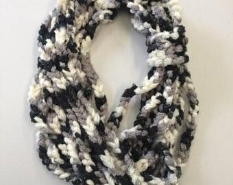 Crocheted Chain Scarf