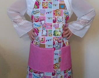 Shopkins Child's or Adult Extra Small Chef/Activity Apron