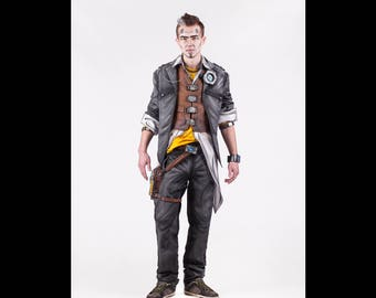 Handsome Jack cosplay costume from Borderlands 2 video game, Halloween costume