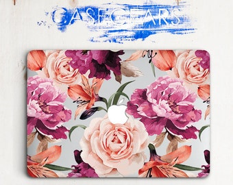 Flowers Macbook Air Case 11 Floral Macbook 12 Cover Case Macbook Pro 13 Mac Pro 15 Case Case For Macbook Air 13 Macbook Air Case 13 CGMC0064