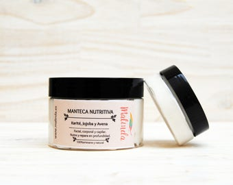 Nourishing butter made from JOJOBA and OAT, face and body butter