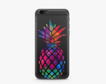 Pineapple iPhone 7 Case, iPhone 7 Plus Case, iPhone 6 Case, iPhone 6S Case, Phone Case For iPhone, Birthday Gifts For Her, Tech Gifts -KT390