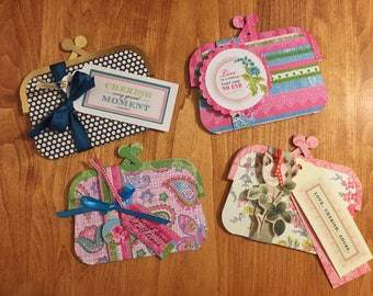 Girly Coin Purse Gift Card Holder