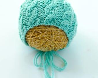 Newborn Cable Hat