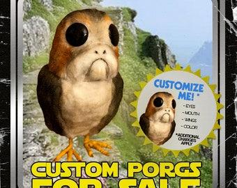 Custom Porg // Star Wars The Last Jedi Prop Replica