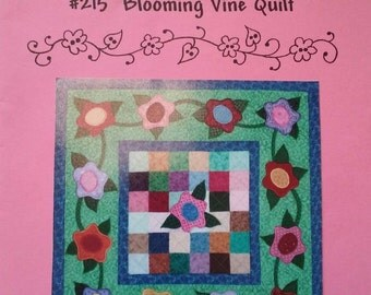 Just My Imagination Blooming Vine Quilt Pattern