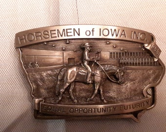 Limited Edition Numbered Vintage Belt Buckle 1986