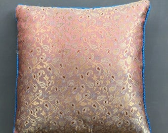 Pasley Faux Silk Cushion Cover