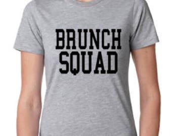 Brunch Squad breakfast ladies t-shirt