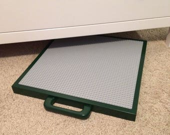 Lego table, Medium green lego table / lego tray