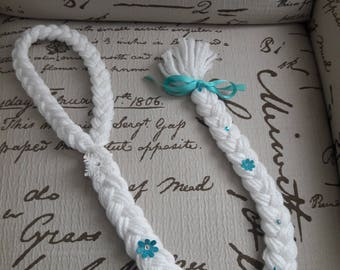 Disney Inspired Elsa Braid - Frozen Hair Braid Yarn