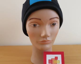 TWO-TONE CHEMO HAT