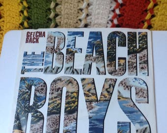 Getcha Back/ The Beach boys/brian wilson/records/vintage vinyl/records/music/beach boys/45 record/single