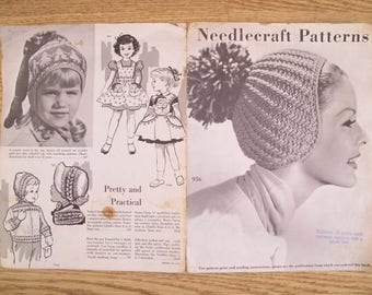 1950's Needlecraft Patterns Catalog / Pattern catalog