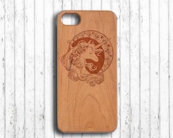 Unicorn  iphone 7 case wood cute  iphone 7 plus case iphone 7 case wood iphone 6s plus case gift for her   iphone 6c case
