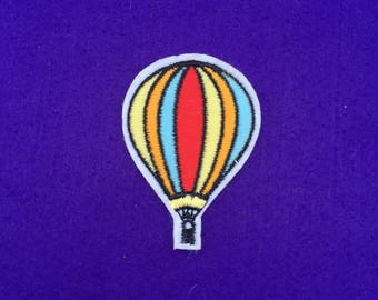 Hot air balloon patch / iron on patch / sew on patch