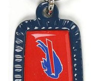 Buffalo Bills NFL Keychain & Keyring - Rectangle