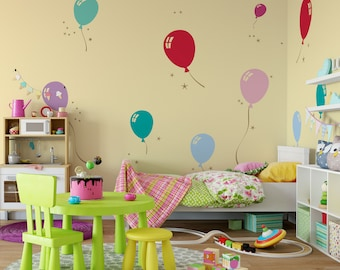 Birthday Wall Decals Etsy - Vinyl wall decals home party