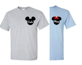 Add personalized logo to front of any of our shirts