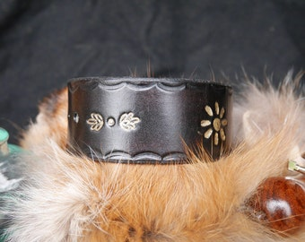 Bohemian leather bracelet