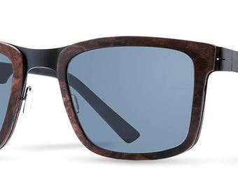 Premium Wooden Sunglasses Navarone Dark