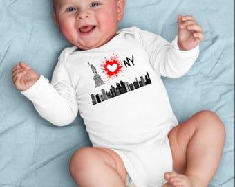 New york baby etsy ny baby clothes nyc baby gift new york baby gift new york city negle Image collections