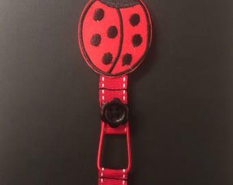 Ladybird Ribbon Bookmark