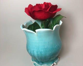 Colorful Ceramic Flower Vase