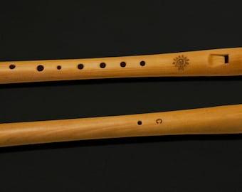 Wooden recorder, svirel, whistle, block-flute, flute