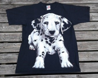 1994 Vintage Dalmatian Puppy large print Made in USA large