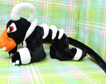 HUGE Houndoom plush MINKY