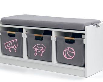 Custom toys storage labels- kids toys organization- drawer labels- kids storage labels