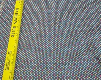 Raining Rainbows Cotton Fabric Designed by Lola Violet for Anthology Fabrics
