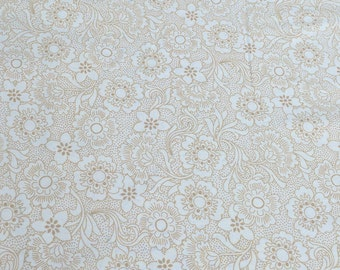 Whisper Prints-Wheat-Cotton Fabric from Robert Kaufman Fabrics