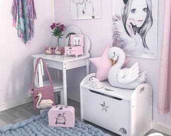 Star pillow (pink and mint), Star shape pillow, Nursery Star pillow, Decorative pillow, Kids Star pillow, Nursery room decor, Scandinavian