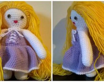 Long haired Princess doll