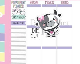 Die Cut Cute Little Cow ---#DC140