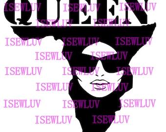 African Queen SVG File