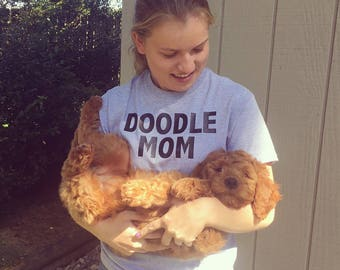 Doodle Mom - Womens Shirt - Customize Any Breed