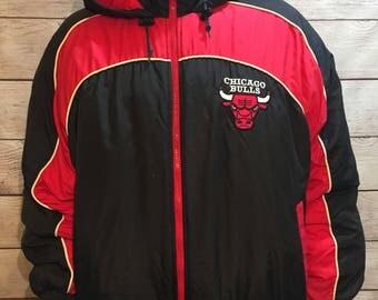 Rare NBA Basketball Chicago Bulls Jacket by Fans Gear